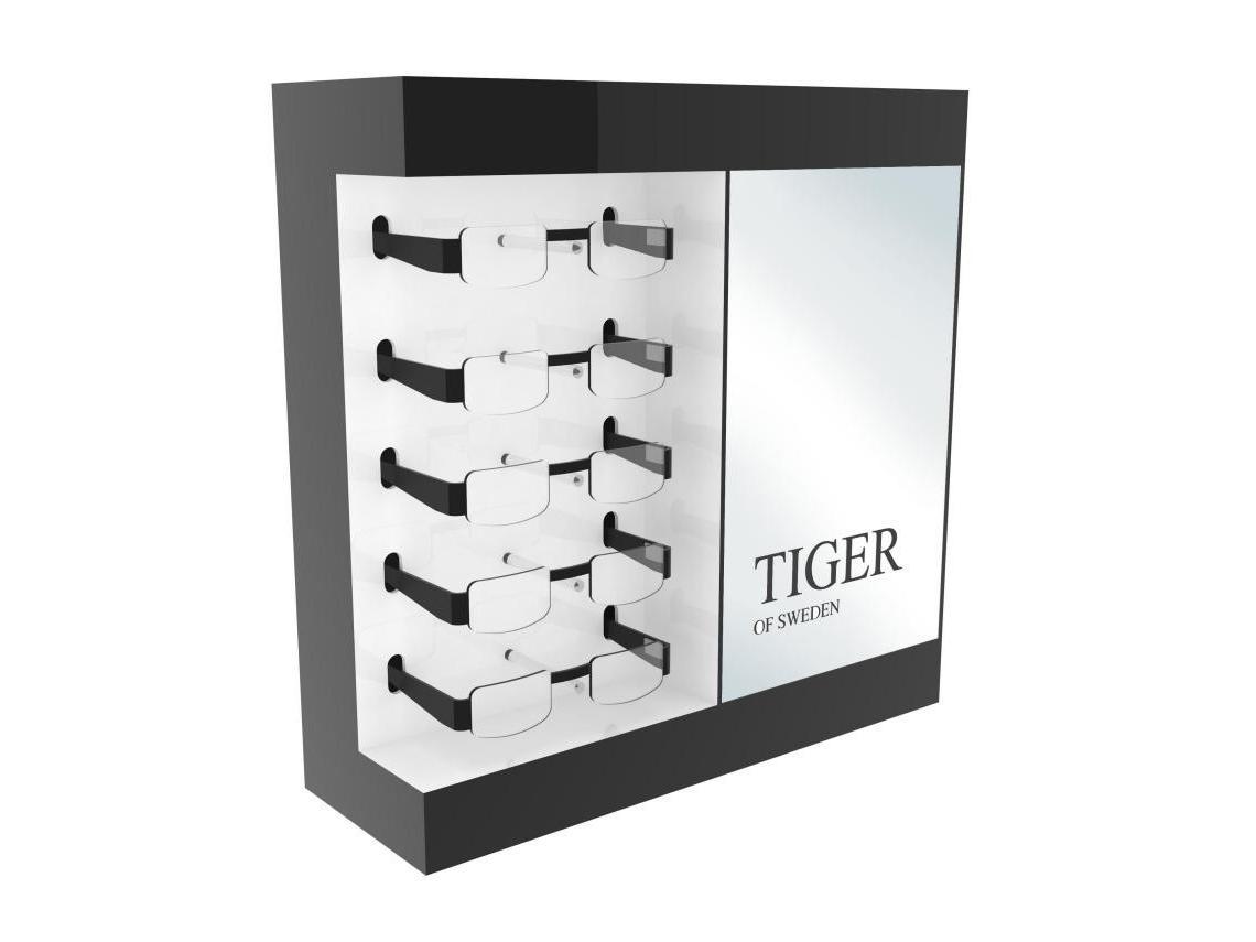 Tiger glasses display