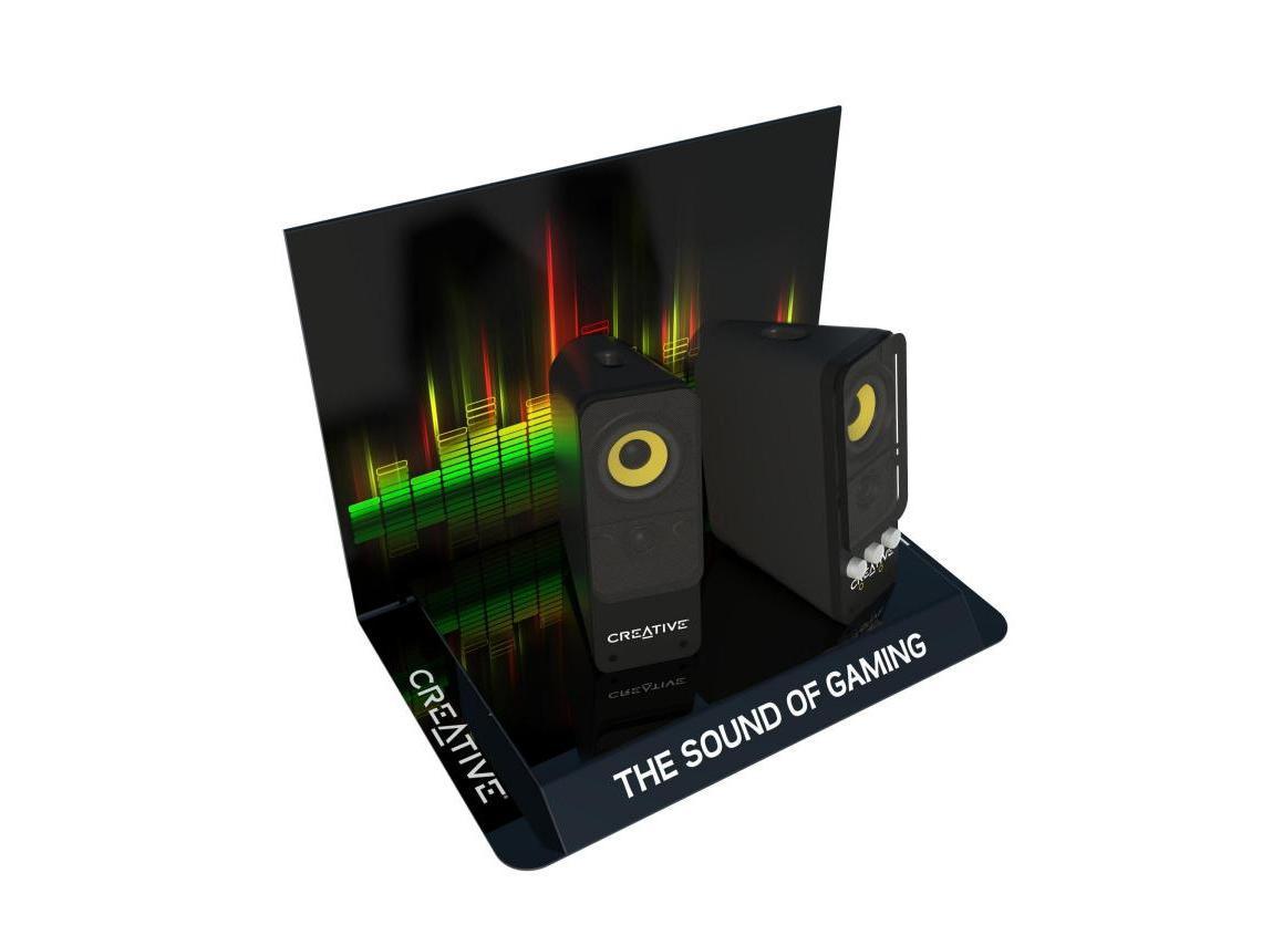 Display na głośniki multimedialne Creative