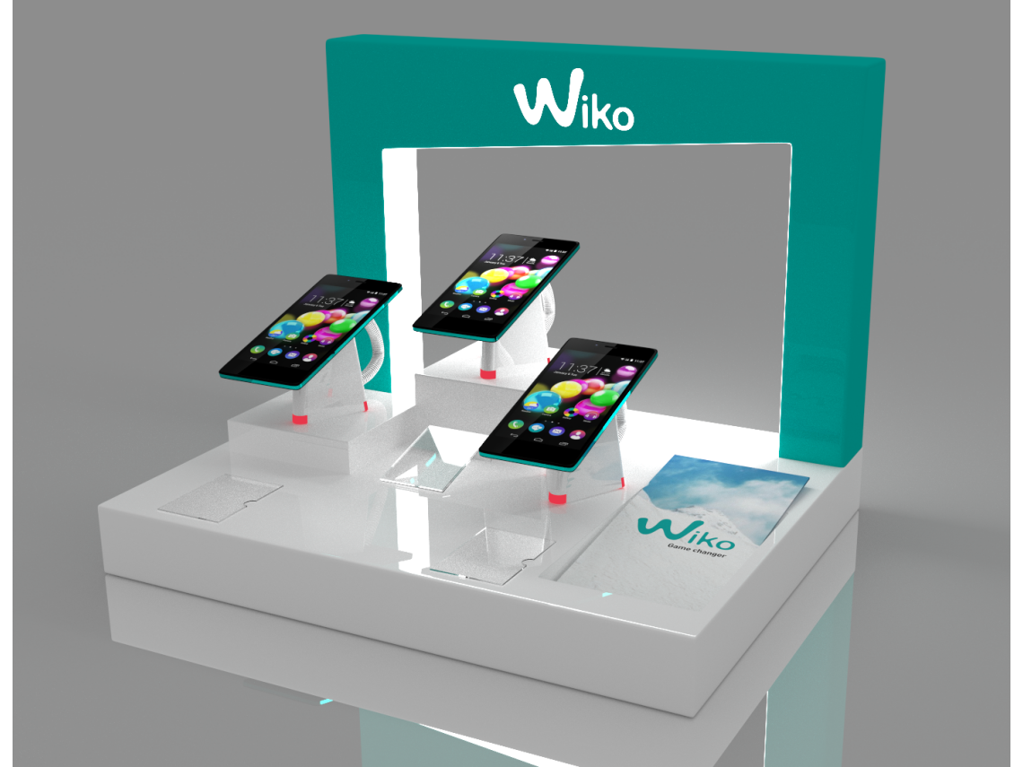 Display for smartphones Wiko