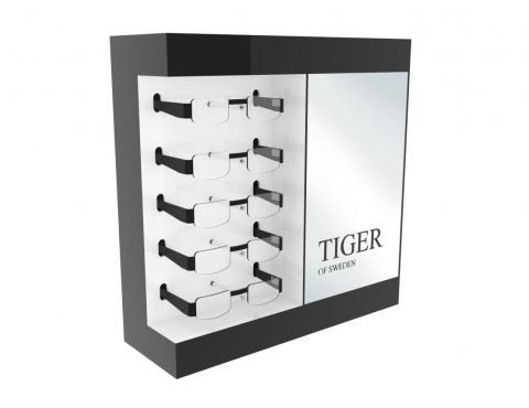 Display na okulary Tiger
