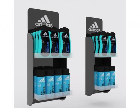 Ekspozytor wiszący Adidas