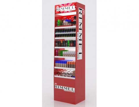 Cosmetic cabinet Rimmel