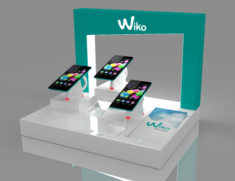 Display na smartfony Wiko