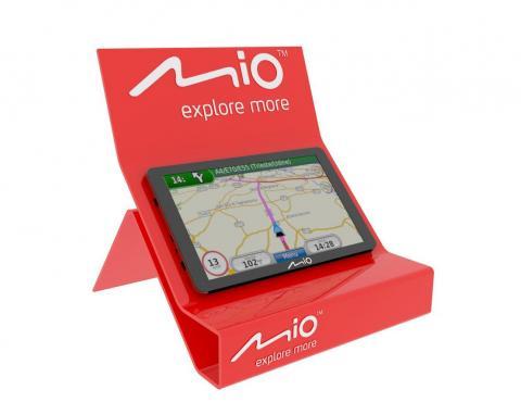 Display na GPS Mio